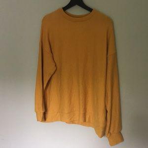 SOFT Yellow Zara Pullover Sweatshirt